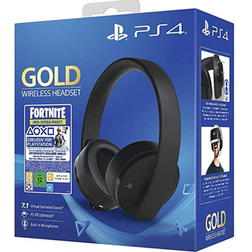 PS4 Headset org. Gold Edition Fortnite Sony 7.1./ VR optimiert Neo