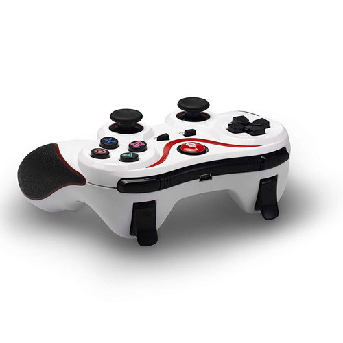 PS3 Controller Bluetooth Spartan White
