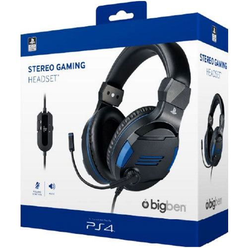 PS4 Headset Stereo V3 BIGBEN offizielle Playstation Lizenz
