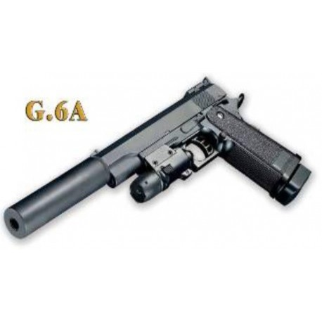 Softair Pistole G6A aus Metall