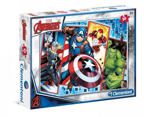 Marvel Avengers Supercolor Puzzle 33,5x23,5cm