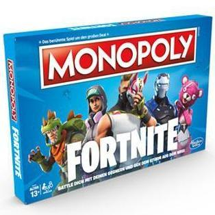 Fortnite Brettspiel Monopoly, Deutsche Version