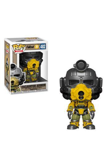 Fallout 76 POP! Games Vinyl Figur Excavator Power Armor 9 cm